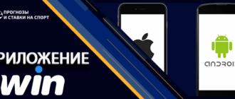 Приложение бк 1Вин для мобильных устройств